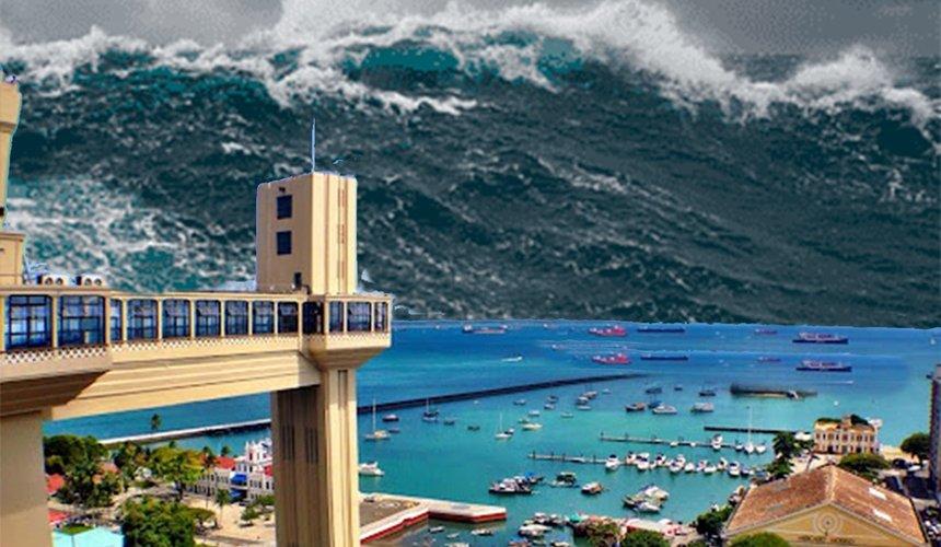 [Jornalista escreve sobre possibilidade de tsunami na Bahia]
