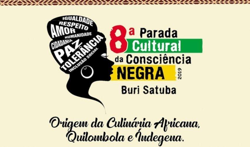 [8ª edição da Parada Cultural da Consciência Negra acontece no Buri Satuba]