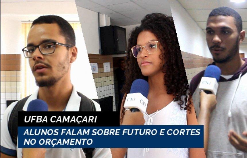 [UFBA Camaçari inicia semestre e alunos falam sobre futuro e cortes no orçamento]