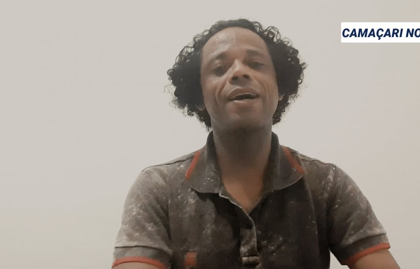 [Coronavírus: Cantor de Camaçari pede ajuda do poder público para artistas locais ]