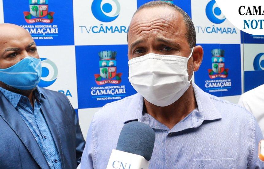 [Prefeito Elinaldo Araújo avalia vacinação contra covid-19 em Camaçari ]