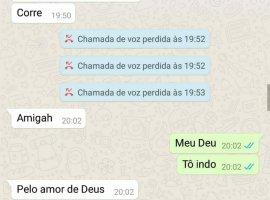 [Jovem morta em matagal pediu ajuda para amiga no Whatsapp:
