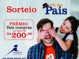 [Sorteio Dia dos Pais Impacto Confecções pelo instagram é hoje as 22h]