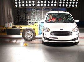 [Ford Ka recebe 3 estrelas na proteção para adultos e 4 para crianças]