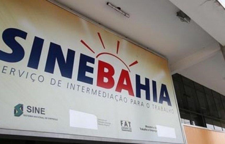 [SineBahia oferece 43 vagas para o dia 28 de dezembro, sexta-feira]