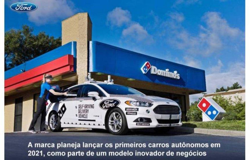 [Ford anuncia que lançará seus primeiros carros autônomos em 2021]