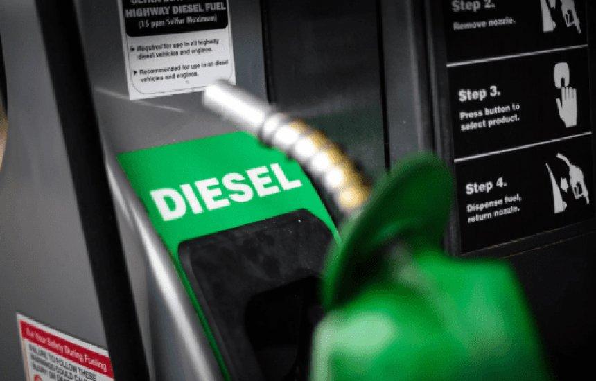 [Litro do diesel está mais caro hoje nas refinarias]