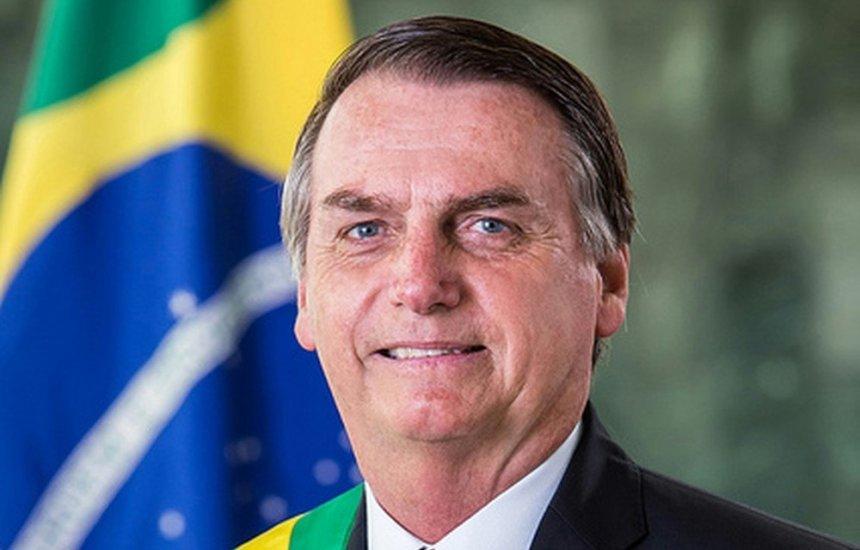 [Planalto divulga retrato oficial de Jair Bolsonaro como presidente]