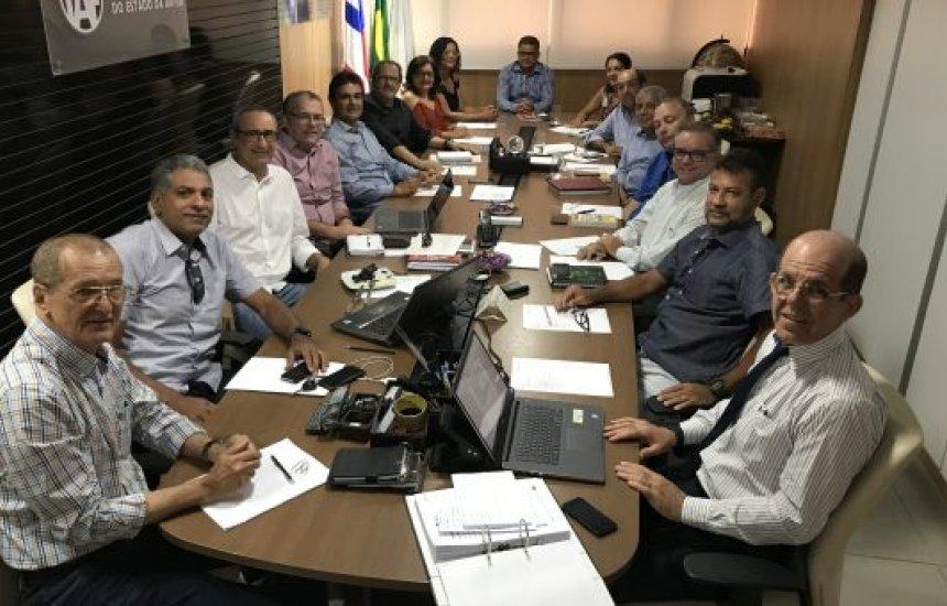 [IAF gestão 2019/2021 realiza a 1ª reunião de diretoria]