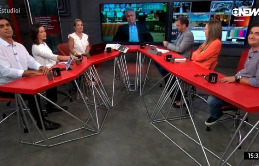 """[""""Gemidão do WhatsApp"""" aparece ao vivo em programa da Globonews]"""