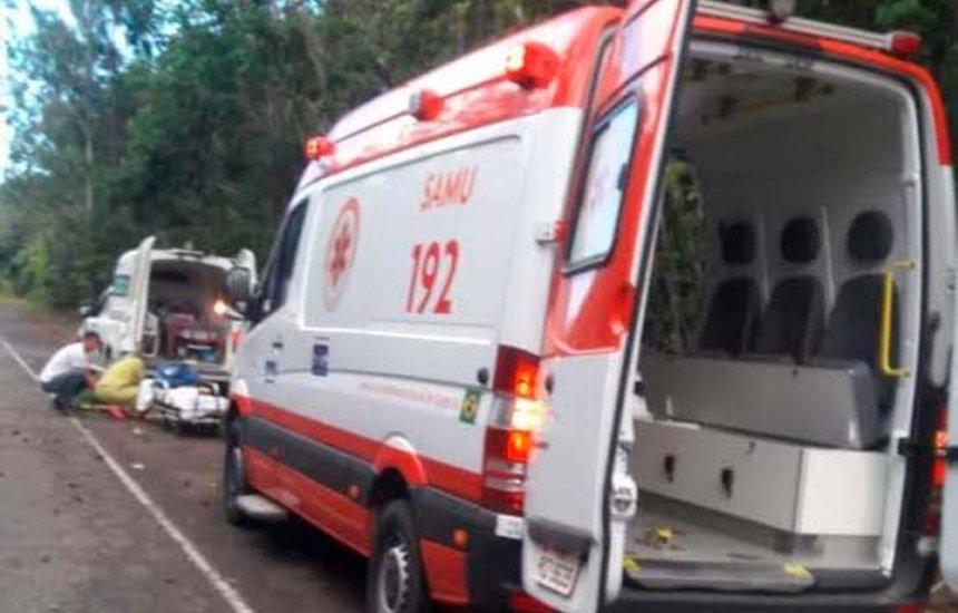 [Crianças morrem e adultos ficam feridos em acidente na BA-099]