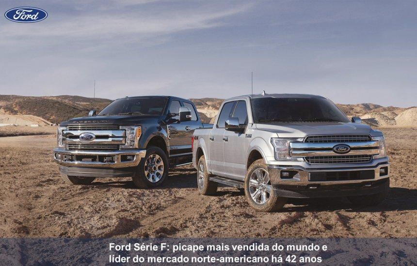 [Ford vende mais de 1 milhão de picapes em 2018 e amplia liderança]