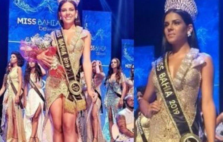 [Estudante de direito de 20 anos de Feira é eleita Miss Bahia]