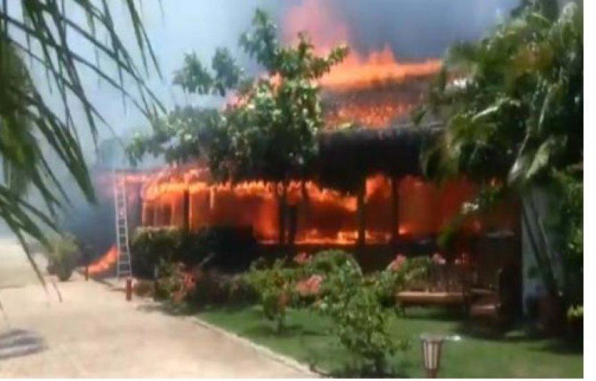 [Fogo colocado em lixo se alastra e incêndio atinge hotel de luxo em Porto Seguro]