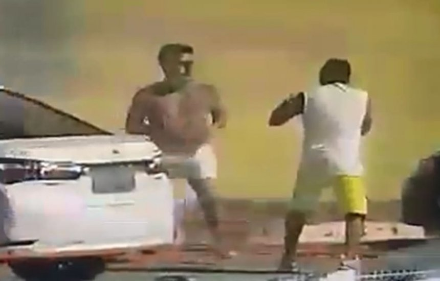 [Após discussão, policial é agredido por advogado e é internado em Feira; assista]