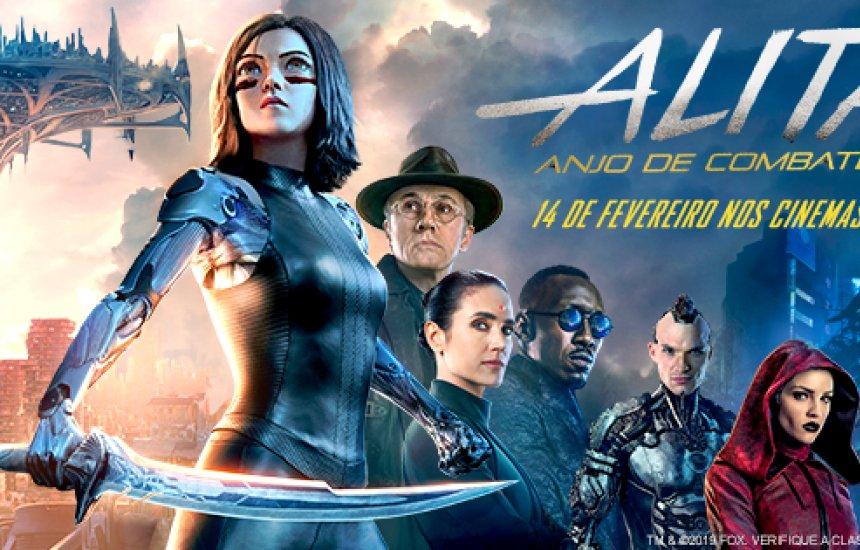 [Alita: Anjo de Combate é estreia da semana no Cinemark Camaçari]