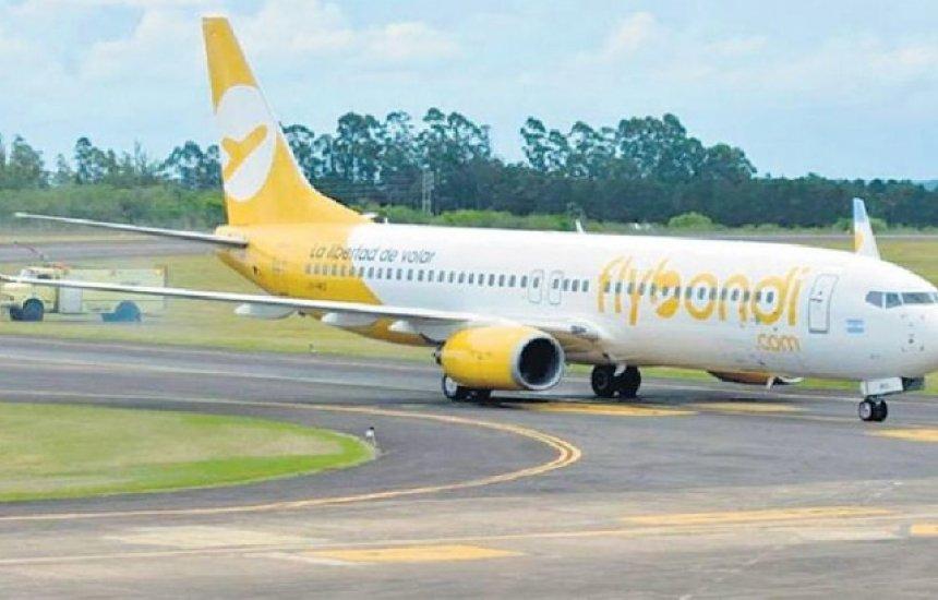 Empresa aérea argentina de baixo custo poderá operar no Brasil