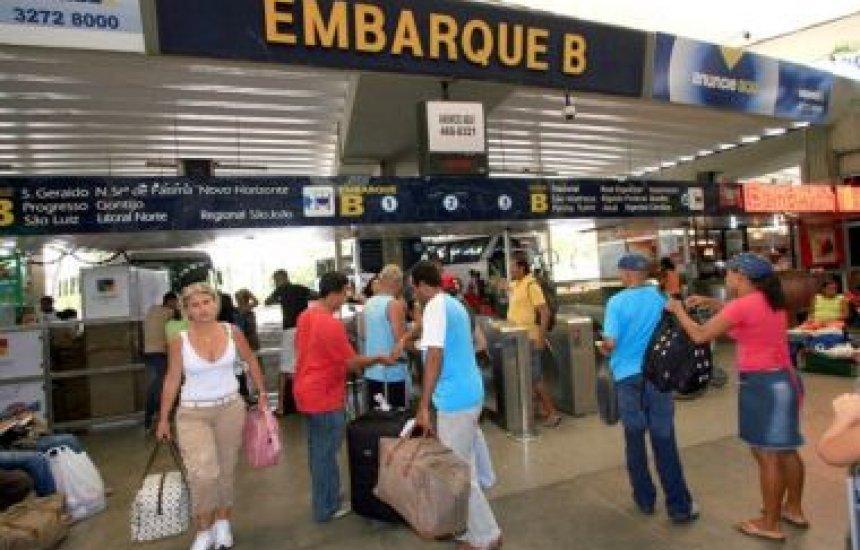 [Carnaval: 100 mil passageiros devem deixar Salvador pela rodoviária]