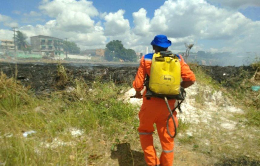 Defesa Civil acode moradores da Gleba A