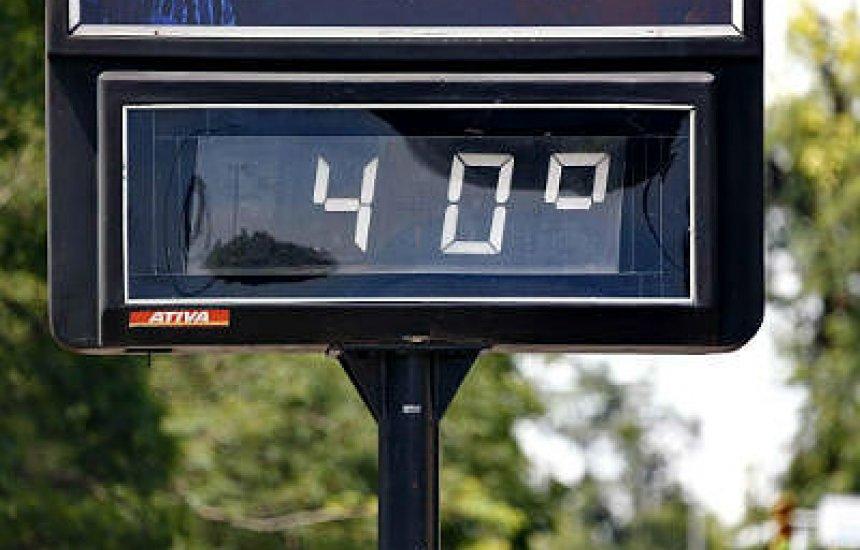 [Temperatura em Camaçari beira a sensação de 40º C]