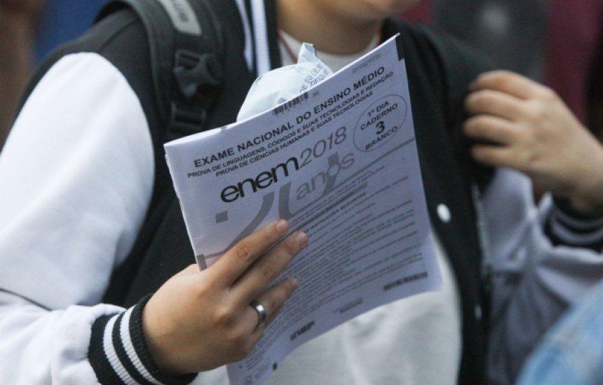 [Enem terá cadernos de prova com nova diagramação para economizar papel, diz Inep]