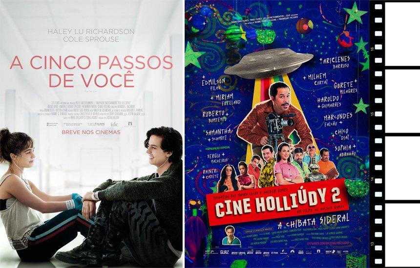 Tem romance e comédia nacional nas estreias do cinema