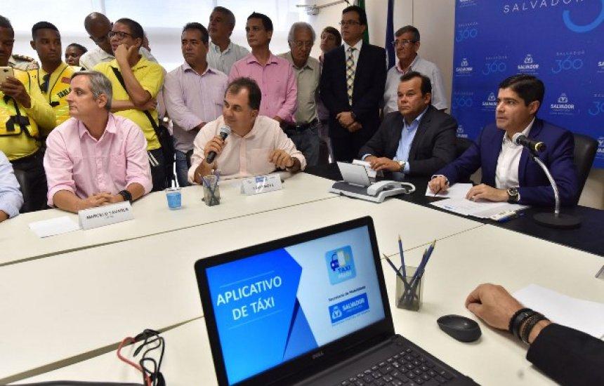 [Aplicativo oferecerá 20% de desconto em corridas de táxi em Salvador]