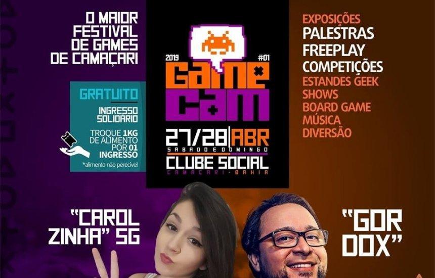 Gamecam: Saiba tudo sobre o evento de gamers de Camaçari
