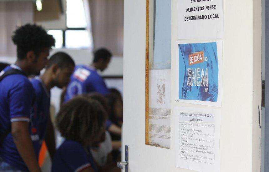 [Escolas da rede estadual mobilizam alunos para inscrição no Enem]
