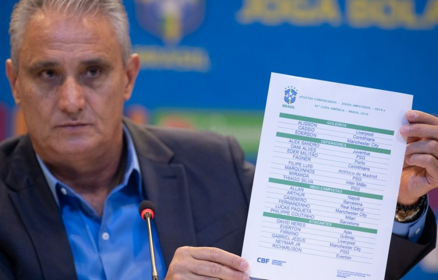 [Tite divulga lista com Neymar, David Neres e Daniel Alves para a Copa América]