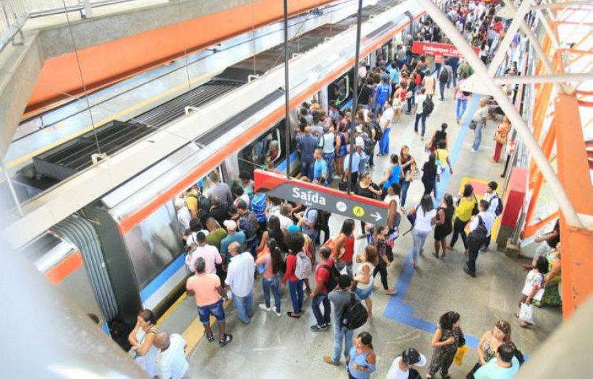 [Linha 1 do metrô de Salvador opera com lentidão por conta de vandalismo]