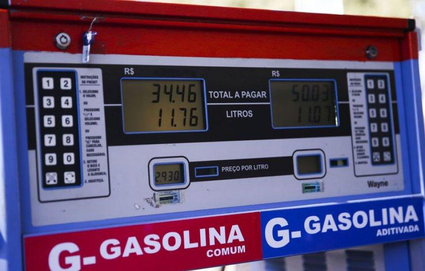 [Postos de combustível têm preços menores em Dia Livre de Imposto]