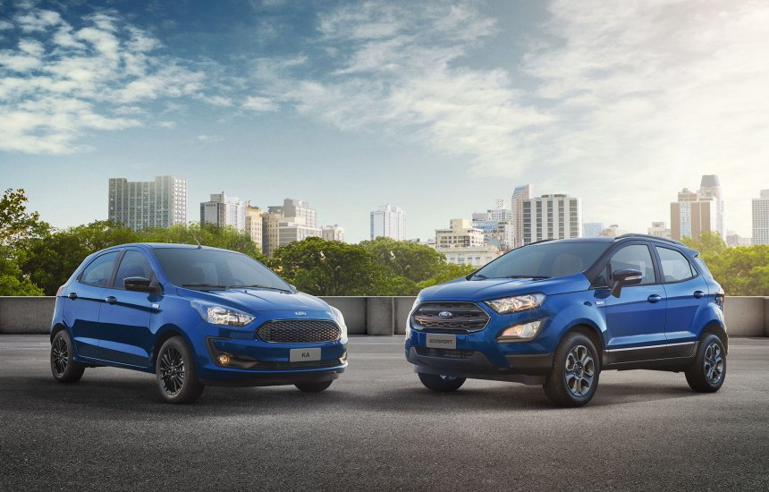 [Ford lança série especial limitada do Ka e do EcoSport]