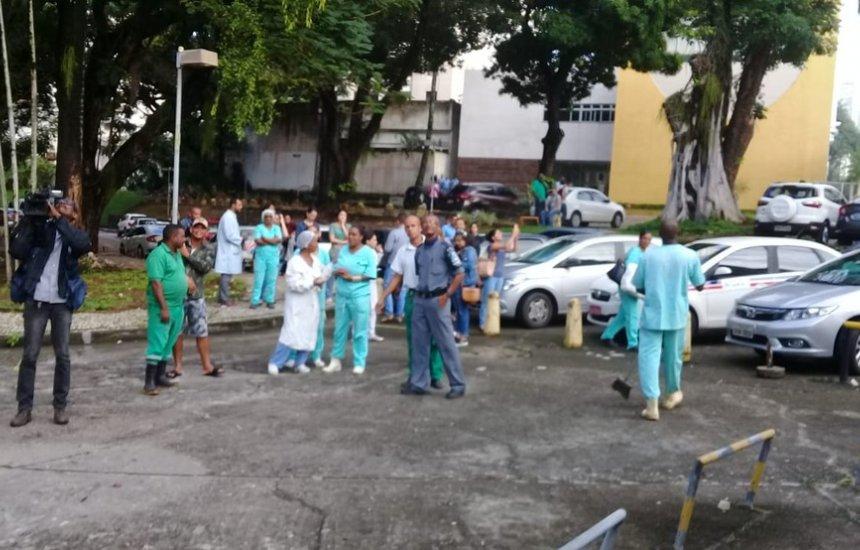 [Após incêndio, 18 cirurgias são suspensas no Hospital das Clínicas]