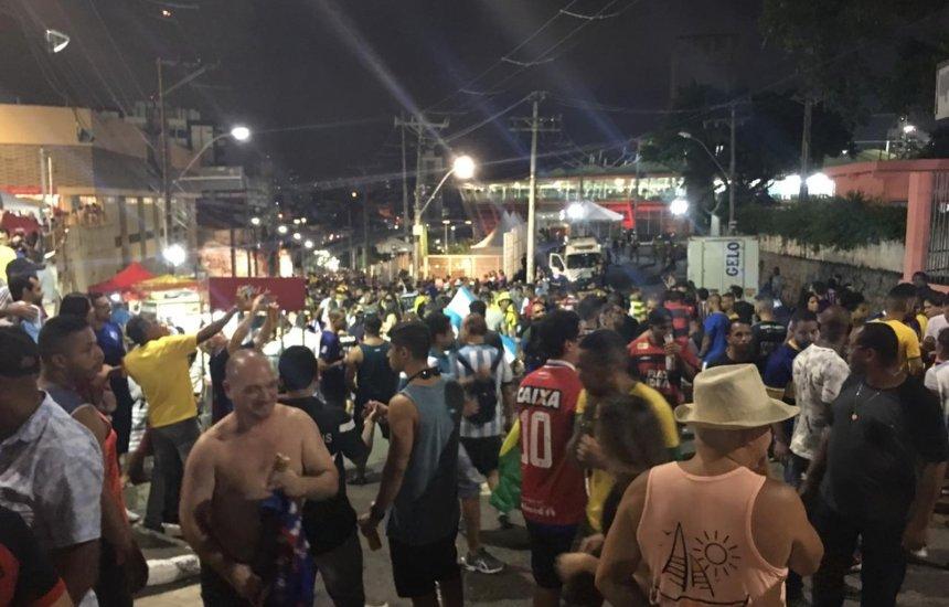 Colombiano é esfaqueado em Salvador após jogo da Copa América