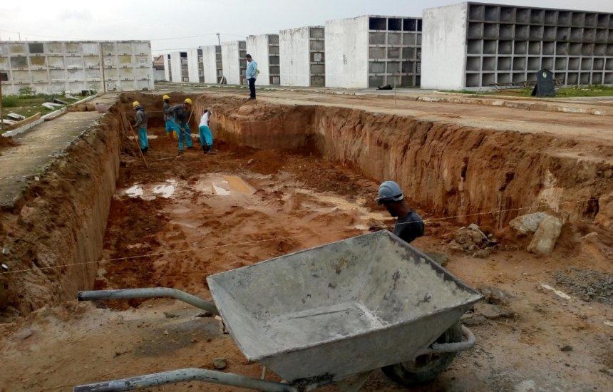 [Prefeitura realiza reformas e ampliações dos cemitérios de Camaçari]