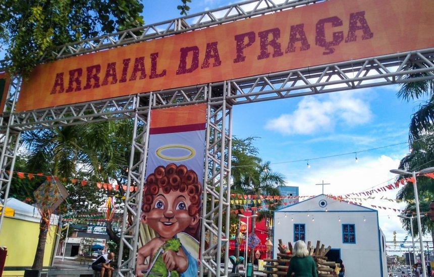 Vem conferir como ficou o centro de Camaçari enfeitado para o São João