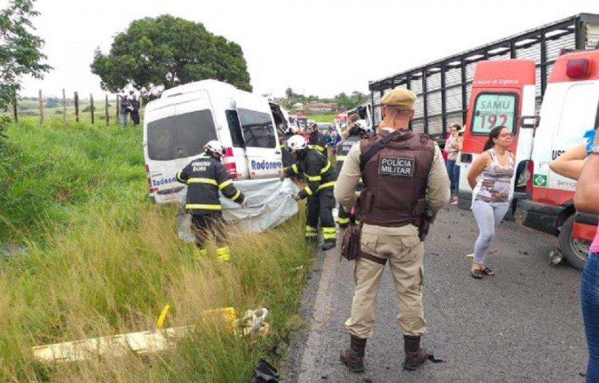 [Identificadas as vítimas de acidente que matou oito perto de Feira]