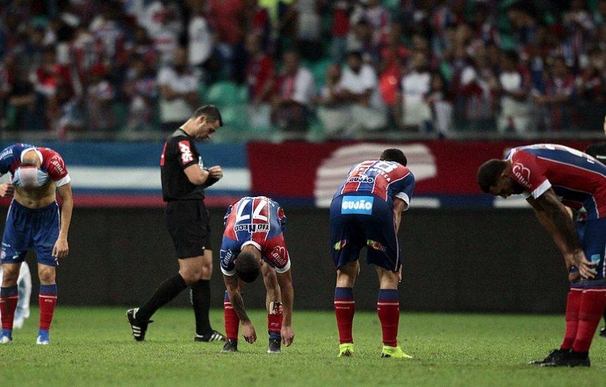 [Bahia perde para o Grêmio e cai nas quartas da Copa do Brasil]