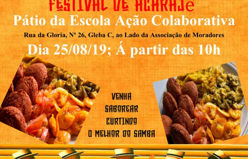 [Festival de Acarajé : Acarajé com samba acontece em Agosto]