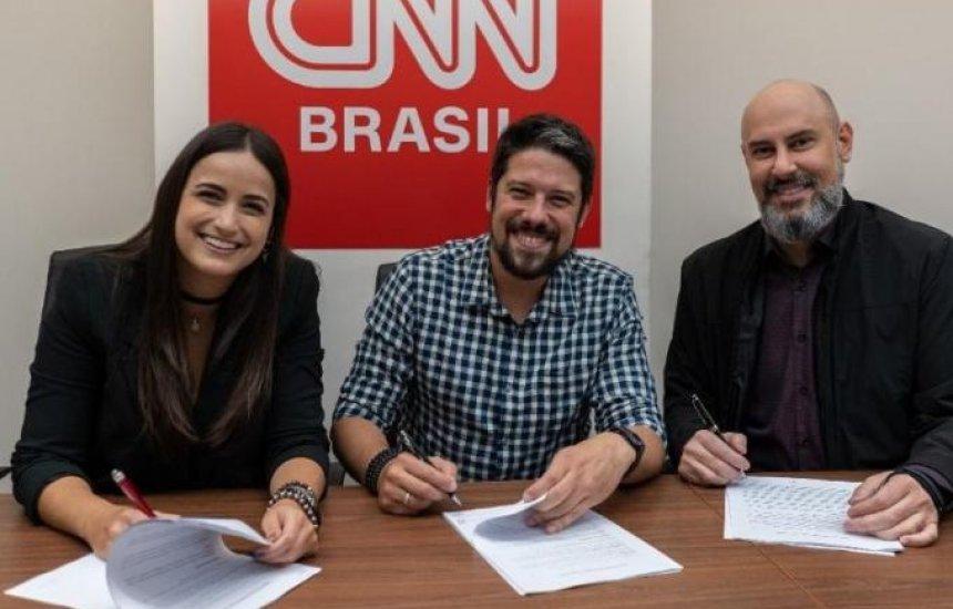[CNN Brasil anuncia contratação de Mari Palma e Phelipe Siani]
