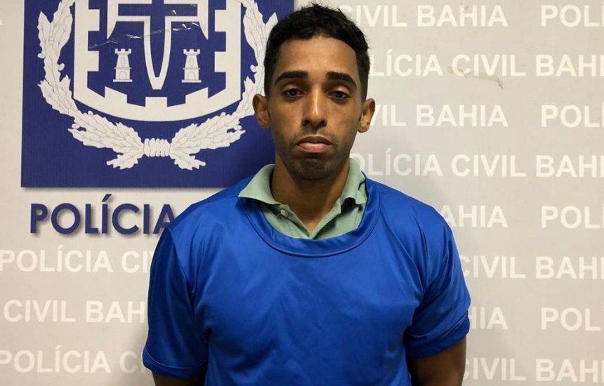 [Suspeito de matar namorada a facadas em Mata de São João se apresenta à polícia]