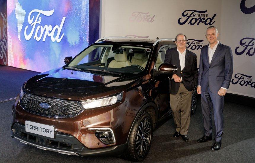 [Ford anuncia o lançamento do SUV Territory no Brasil e na Argentina]