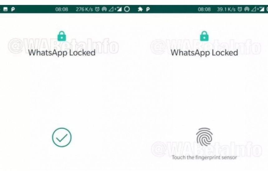 [WhatsApp ganha bloqueio por digital no Android]