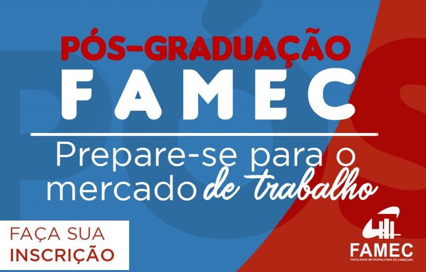 [Pós-Graduação 2019.2 FAMEC . Inscrições Abertas !]