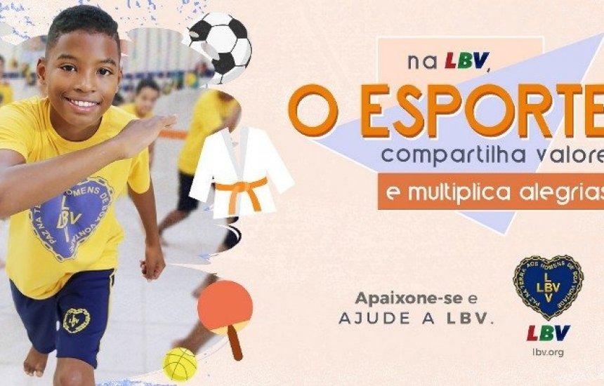 [LBV mobiliza a sociedade em prol do brincar e da prática esportiva para crianças]