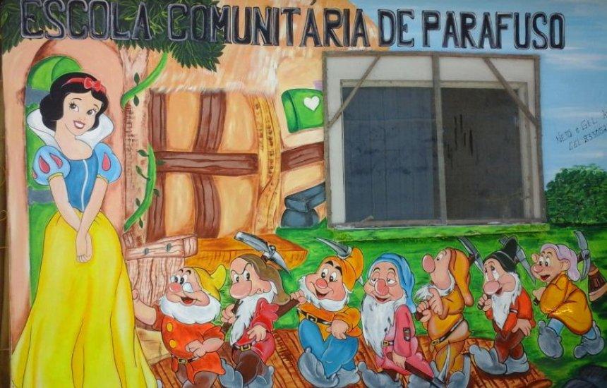 [Creche Comunitária de Parafuso precisa de doações para concluir obra da sede]