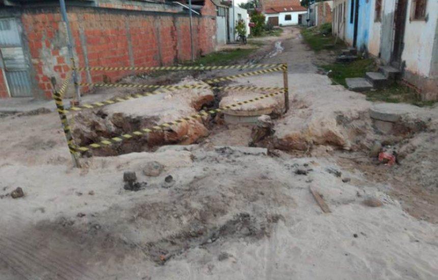 [Seu Bairro no CN: morador mostra condições precárias de rua no Pq. das Mangabas]