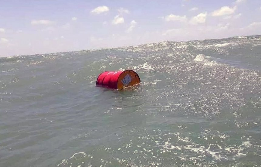 Marinha confirma que barril de óleo da Shell foi achado em Natal
