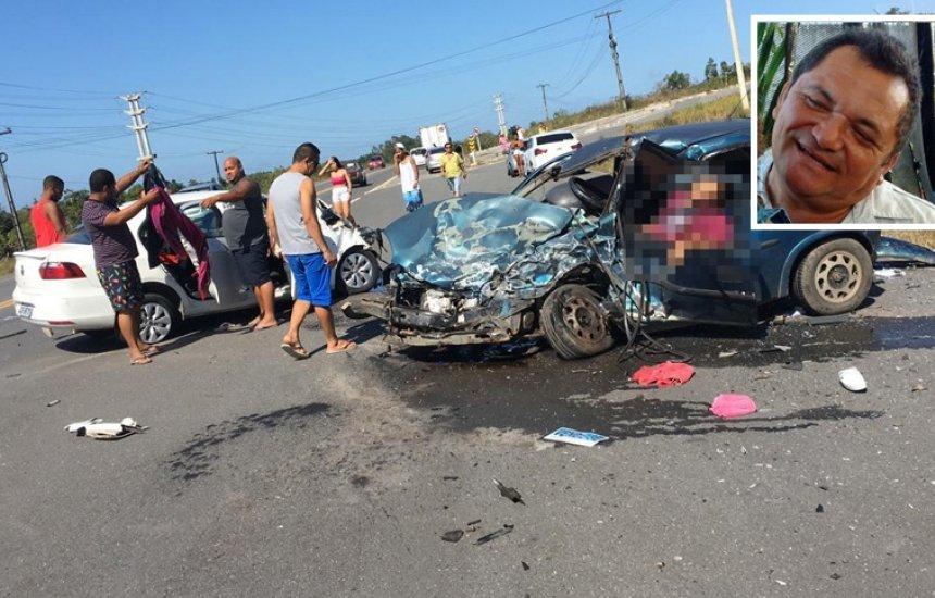 [Camaçari: acidente deixa dois feridos e um morto na BA-530]